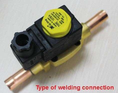 Diaphragm type solenoid valve 2