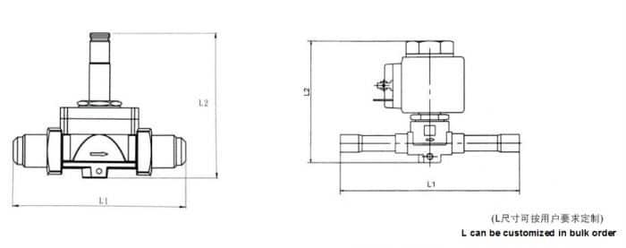 Diaphragm type solenoid valve 6