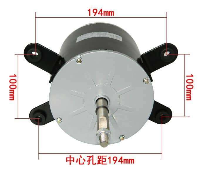 Air conditioner fan motor YDK200-6A 8