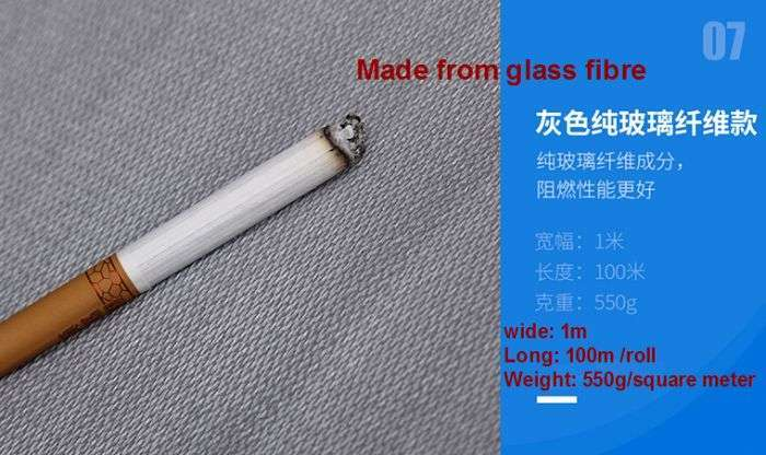 Fire resistant fabric,Anti Flame Fabric Cloth, Fireproof fiberglass 42