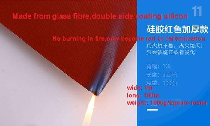 Fire resistant fabric,Anti Flame Fabric Cloth, Fireproof fiberglass 50
