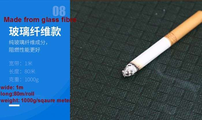 Fire resistant fabric,Anti Flame Fabric Cloth, Fireproof fiberglass 44
