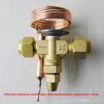 Internal balance screw type thermodynamic expansion valve RFA Series
