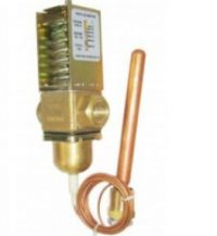 Temperature operated water valve