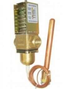 Temperature operated water valve