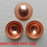 Copper tube bell cap