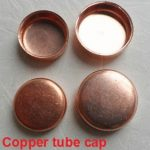 Copper tube cap