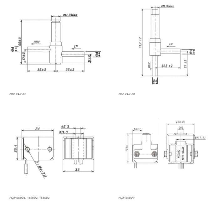 Solenoid Valve FDF N/O Series Valve 2