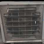 Stainless steel air baffle for air conditioner outdoor unit