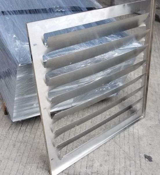 Stainless steel air baffle for air conditioner outdoor unit 4