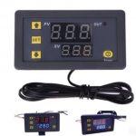 High precision digital temperature controller DC12V  DC24V AC110~220V