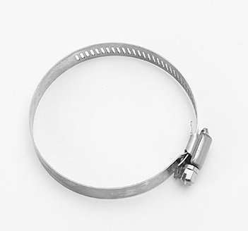 Hose clamp for heater coil 2