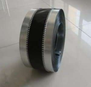 PVC Cloth Black Flexible Duct Connector