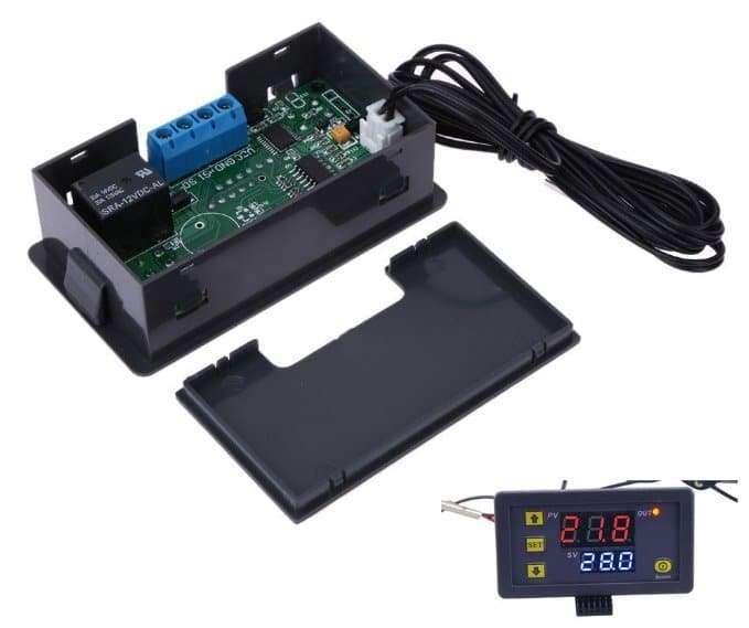 High precision digital temperature controller DC12V DC24V AC110~220V 60