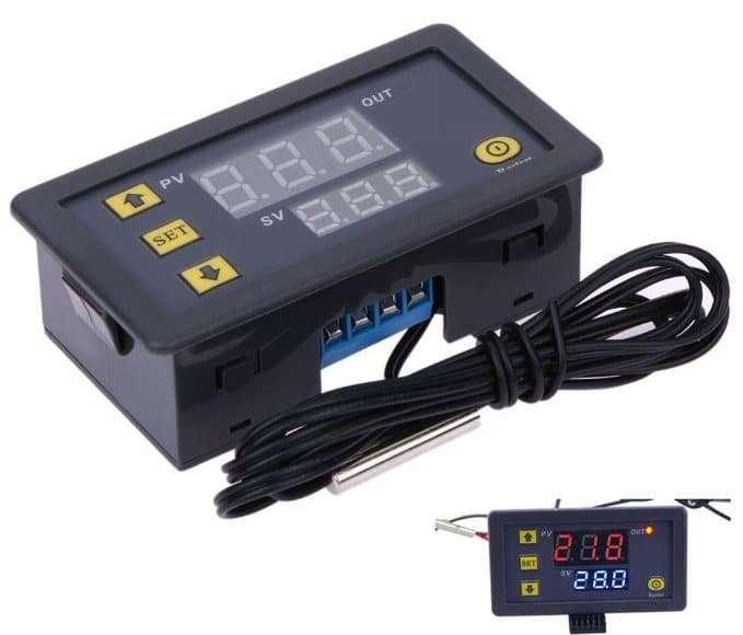 High precision digital temperature controller DC12V  DC24V AC110~220V 2