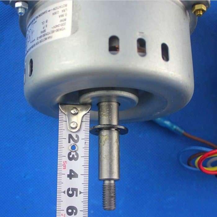 Air-conditioning fan motor YDK80-6E YDK80-6A-3 8