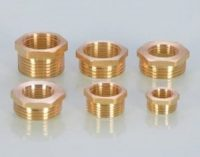 Brass Pipe Fitting Bushing with Male thread and Female thread