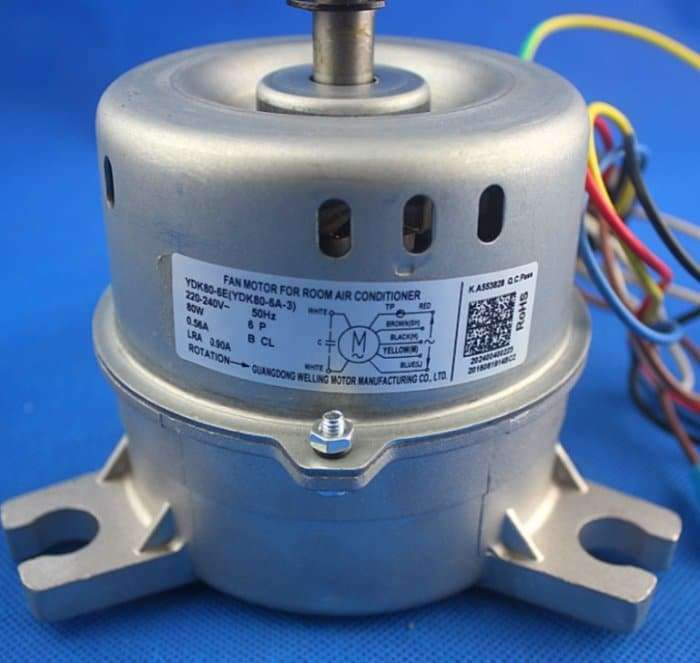 Air-conditioning fan motor YDK80-6E YDK80-6A-3 4