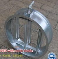Circular Duct Air Volume Damper with multi-blade