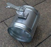 Galvanized Steel Round Duct Volume Control Damper