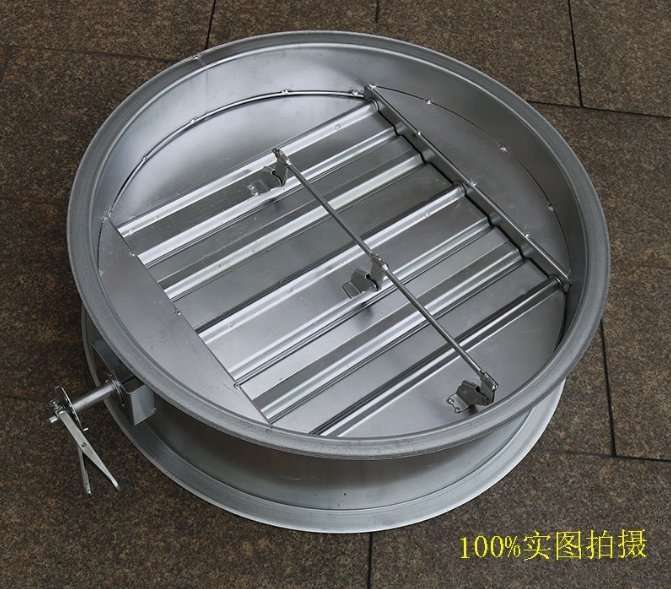 Circular Duct Air Volume Damper with multi-blade 4