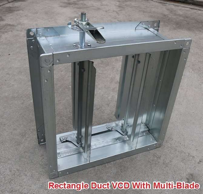 Rectangle Duct VCD With Multi-Blade 2