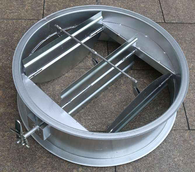Circular Duct Air Volume Damper with multi-blade 2
