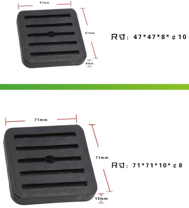 Rubber Damper Pad For Split Outdoot Unit 2