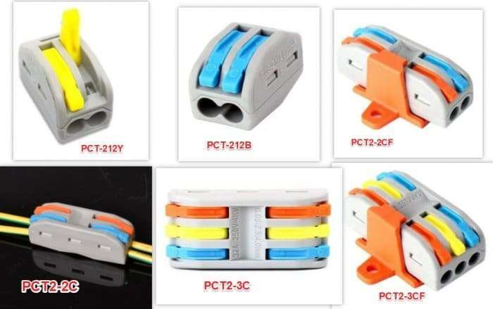 colourful splicing-wire-connector