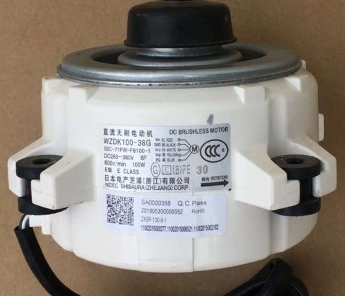 Fan motor WZDK100-38G 8