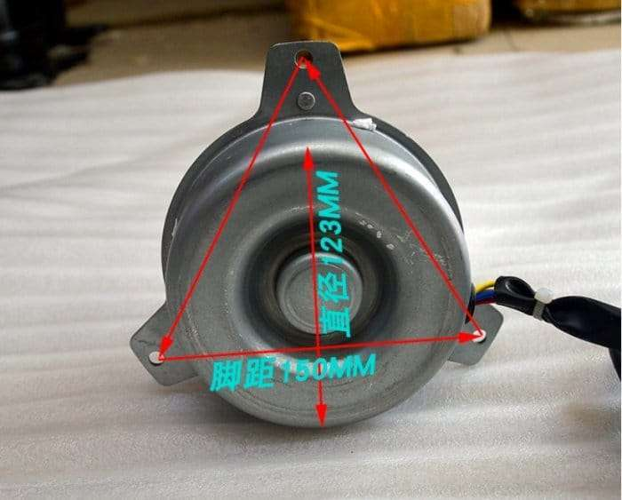 YDK65-6F(B) FAN MOTOR FOR ROOM AIR CONDITIONER 6