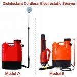 Disinfectant Cordless Electrostatic Sprayer,Electrostatic disinfectant fogger atomizer