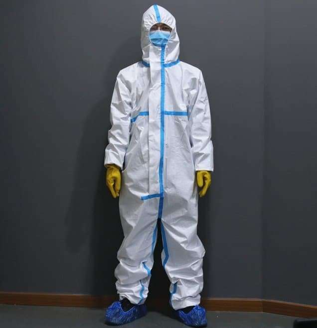 Disposable medical protective clothing 2