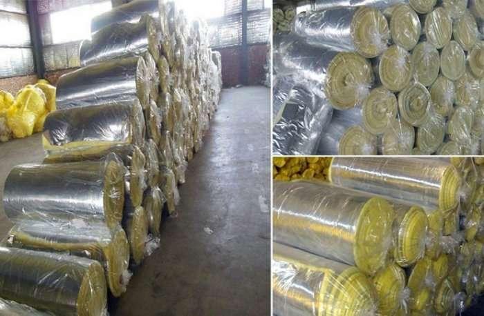 Fiberglass insulation roll mat,Fiberglass Duct wrap 6