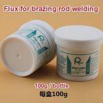 Flux for brazing rod welding