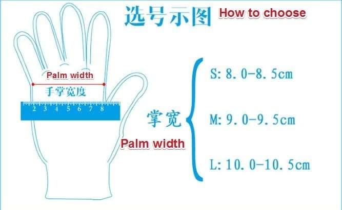 Disposable sanitaty gloves 8