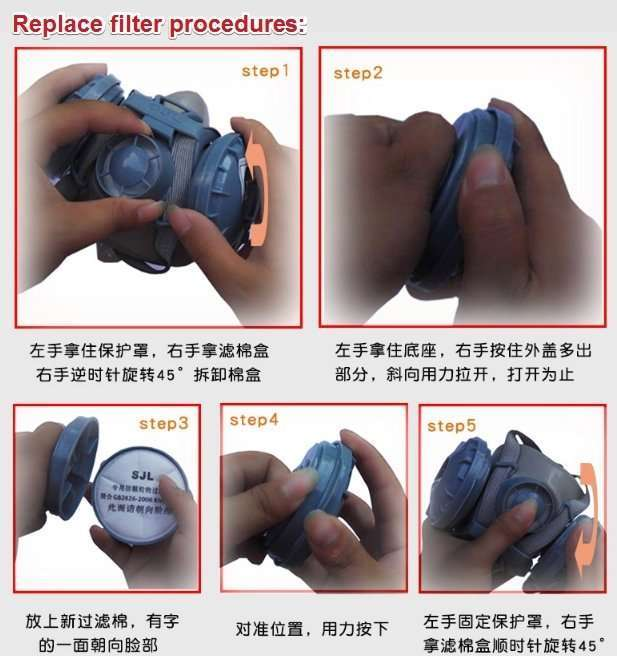 Protective anti-virus mask 10