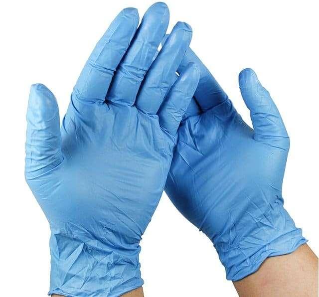 Disposable sanitaty gloves 6