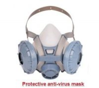 Protective anti-virus mask