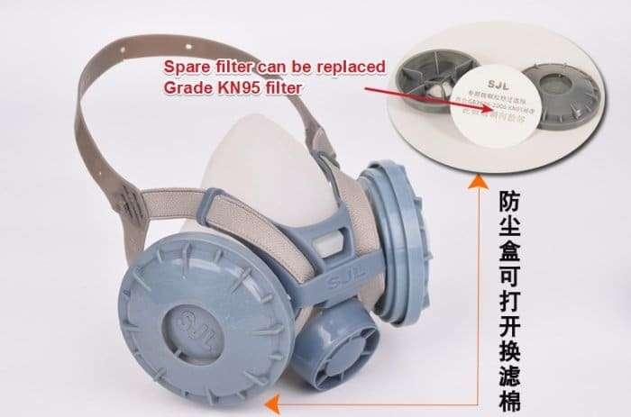 Protective anti-virus mask 6