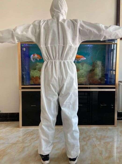 Protective clothing isolation clothing 8