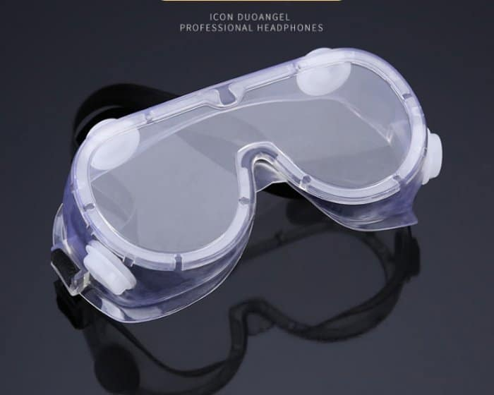 Clear Chemical Splash Goggles With Indirect Vent 4