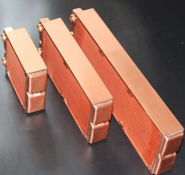 Water Cooling Radiator Copper 2