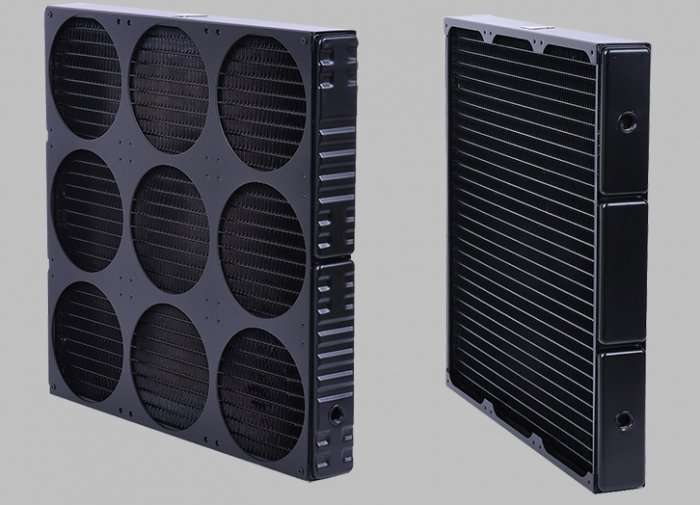 Water Cooling Radiator for 9 fans 4