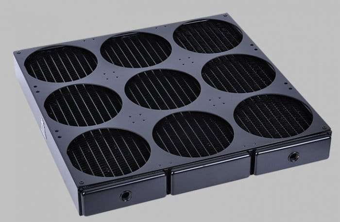 Water Cooling Radiator for 9 fans 2