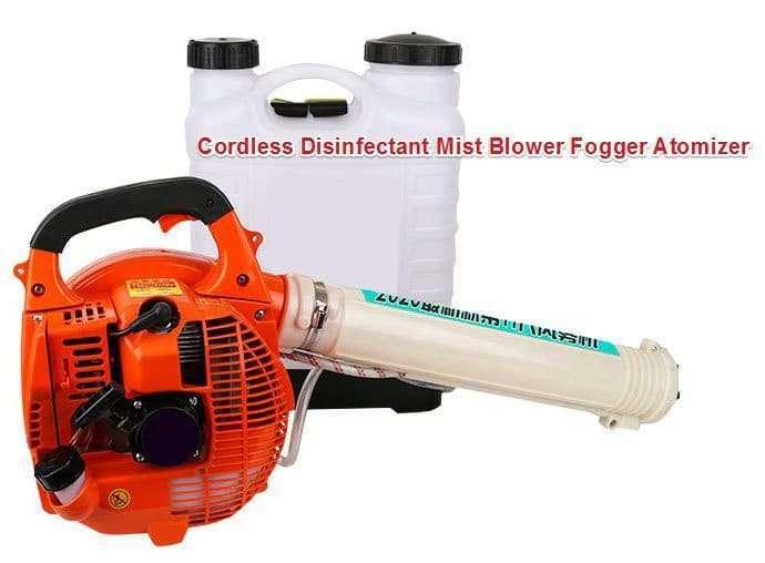 Cordless Disinfectant Mist Blower Fogger Atomizer machine
