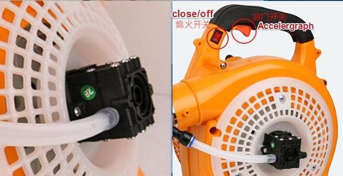 Cordless Disinfectant Mist Blower Fogger Atomizer Machine 146