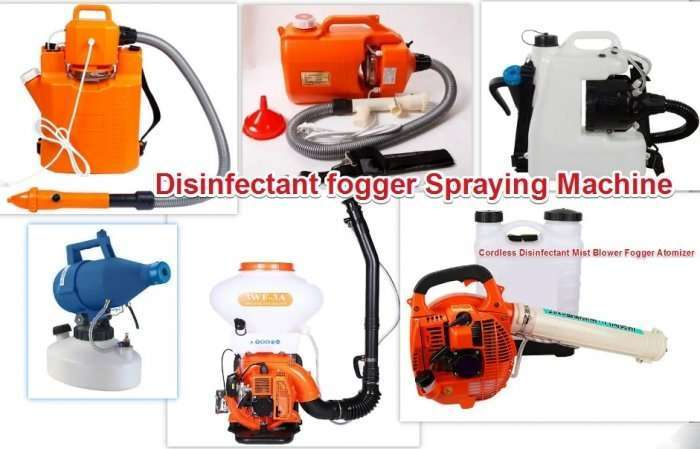 Disinfecting Fogger Machine to kill virus effectively 52