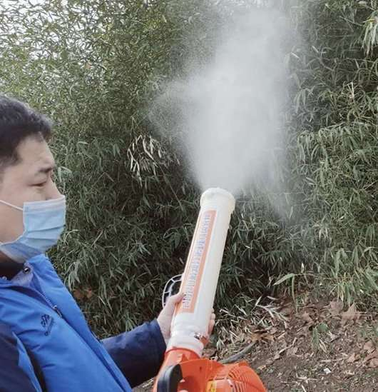 Disinfecting Fogger Machine to kill virus effectively 104