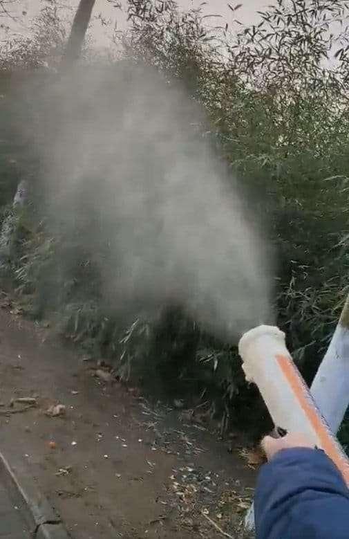 Cordless Disinfectant Mist Blower Fogger Atomizer Machine 140